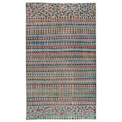Mid-Century Modern Turkish Rug