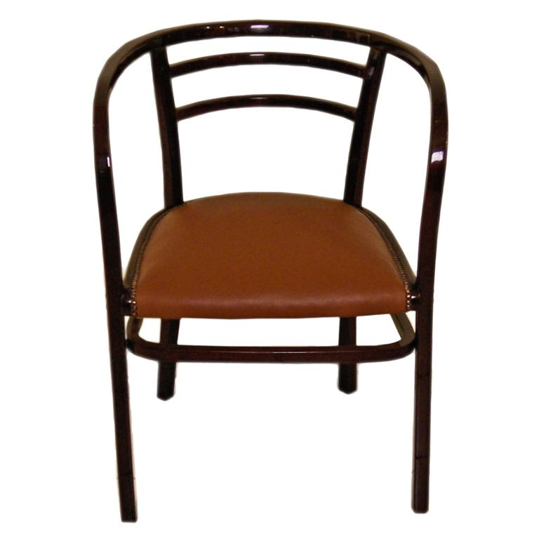Thonet Vienna Armchair Otto Wagner Art Nouveau Model 6516 made circa 1911 For Sale