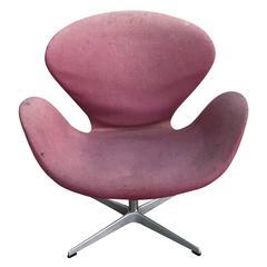Danish Arne Jacobsen Fritz Hansen Swan Chair