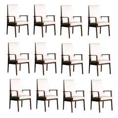 Set of Twelve 1950s Armchairs by Tijsseling, Netherlands