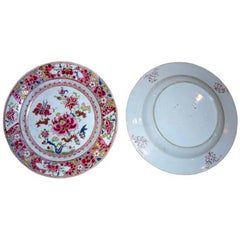 Three 18th Century Chinese Export Plates