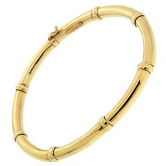 Valentin Magro Gold Tube and Ball Bracelet