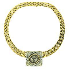 Bulgari Ancient Coin Diamond Necklace