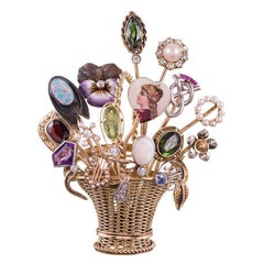 Victorian Stick Pin Brooch