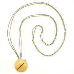 Modernist Gold Necklace