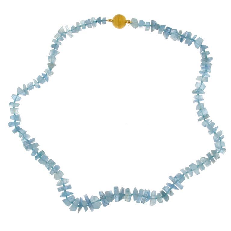 Jona Aquamarine Necklace