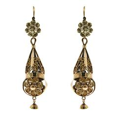 1750s Rose Gold Bourbonist Earrings