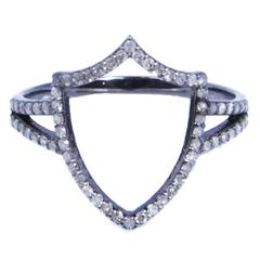 Insignia Renaissance Shield Diamond Ring