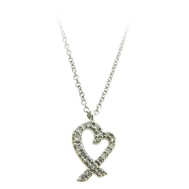 Diamond gold heart Pendant
