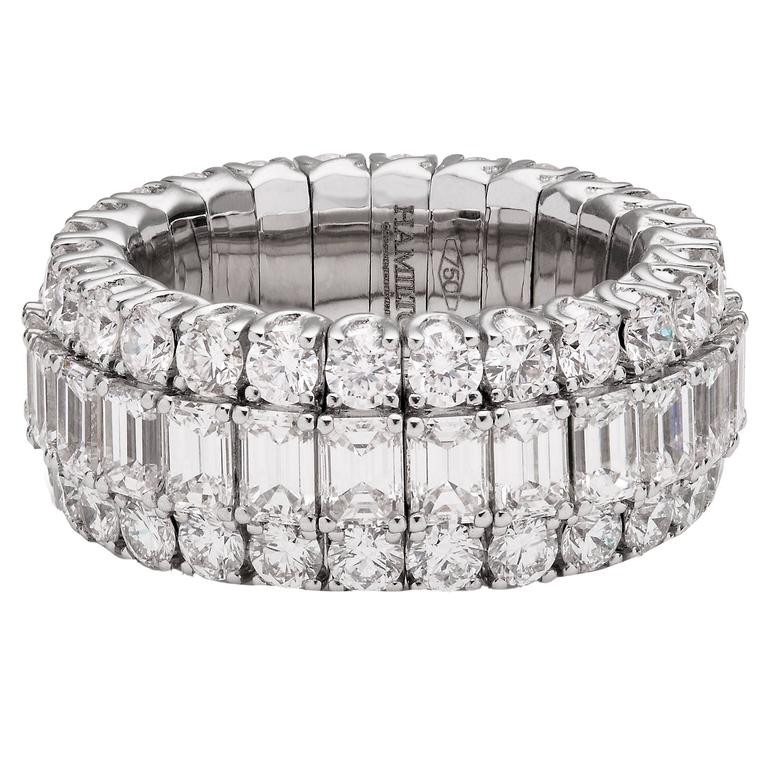 Exceptional diamond eternity band Ring