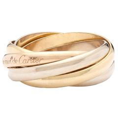Cartier Les Must de Cartier Trinity Three Color Gold Five Band Ring