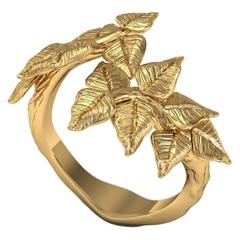 Barbara Nanning & Sparkles Gold Ring