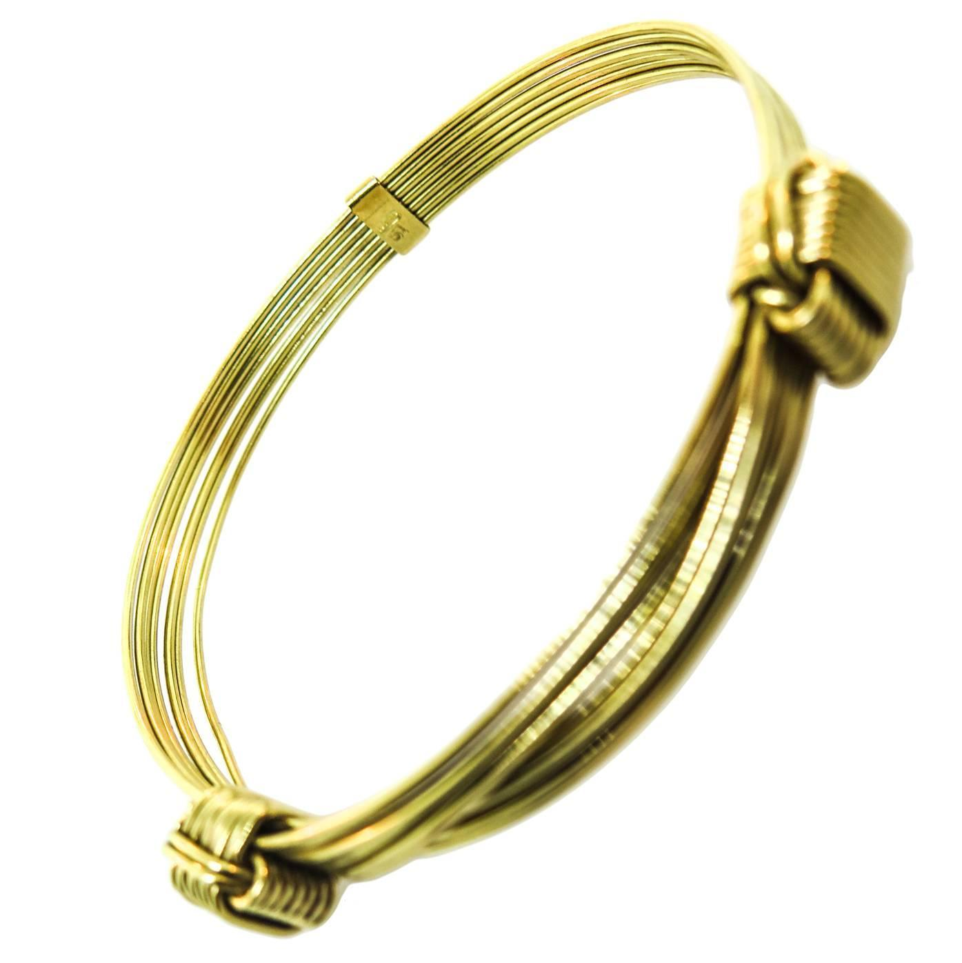 yellow unique handmade products bangle type unusual with gold bracelet russian finish bespoke brushed bangles modern style and