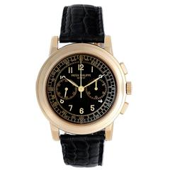 Patek Philippe Yellow Gold Chronograph Automatic Wristwatch