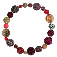 Axel Russmeyer Hand Beaded Necklace