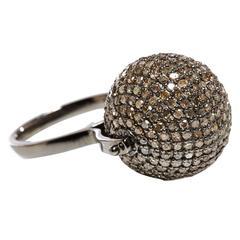 Jade Jagger Diamond Disco Ball Ring