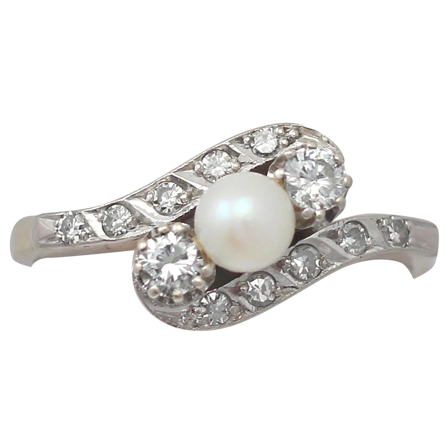 and pearl with pearls engagement diamonds made bespoke rings fairtrade pin ring gold diamond from