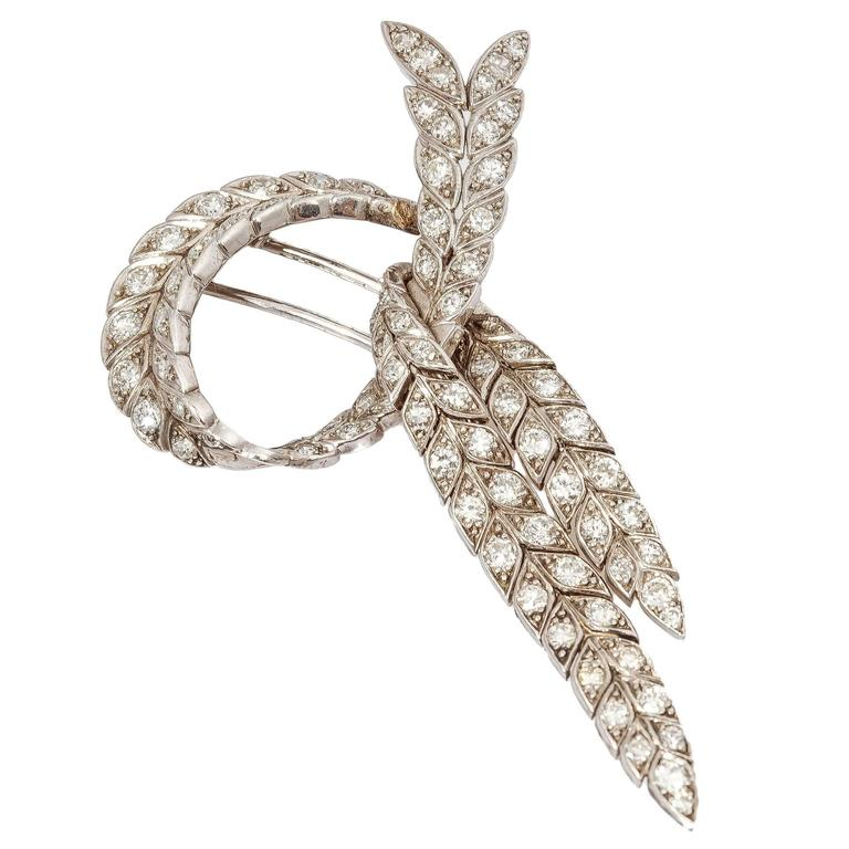 Sterle Beautiful Diamond Gold pin