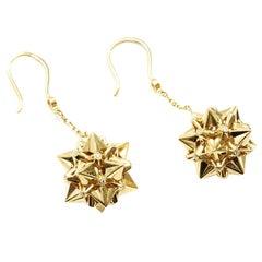 Nova Diamond and 18K Gold Dangle Earrings