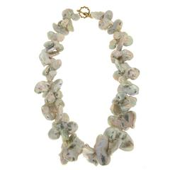 Butterfly Baroque Pearl Necklace