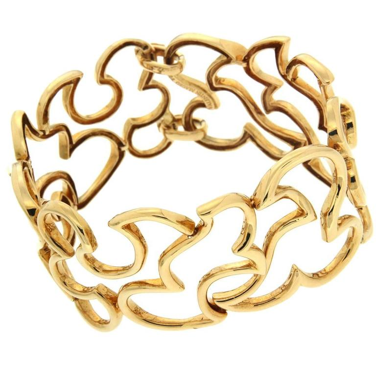 Valentin Magro Unique Gold Scroll Bracelet