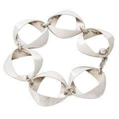 Georg Jensen Silver Link Bracelet