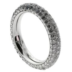 Chanel Magnificent Sapphire Diamond Gold Spinning Band Ring