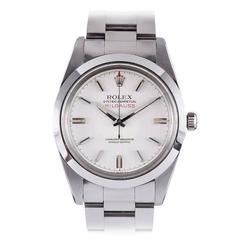 Rolex Stainless Steel Milgauss oyster perpetual Wristwatch ref 1019