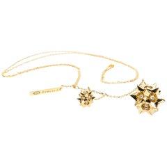 Helix Diamond Gold Pendant