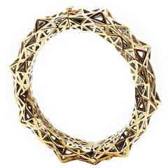 Stellated Gold Bracelet
