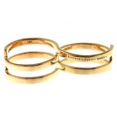 Double-Loop 18K Yellow Gold Fabri Infinity Ring