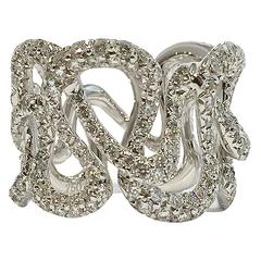 Jona Diamond White Gold Band Ring
