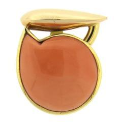 Giorgio Facchini Coral Gold Pendant
