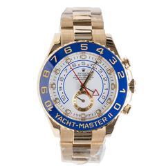 Rolex Yellow Gold Yacht Master II Wristwatch