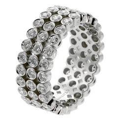 Tiffany & Co Platinum Diamond Eternity Band