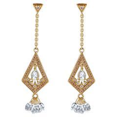 Jade Jagger Brilliant Briolette Diamond Earrings