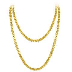 Tiffany & Co. Estate Gold Chain Necklace C.1960's