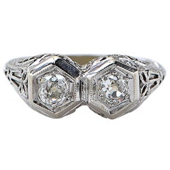.66 Carat Antique Diamond Ring