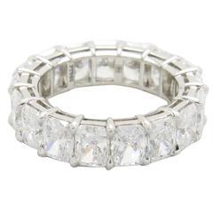 Harry Winston Radiant Diamond platinum Eternity Band