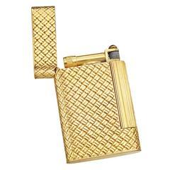 Van Cleef & Arpels Gold-Plated Pocket Lighter