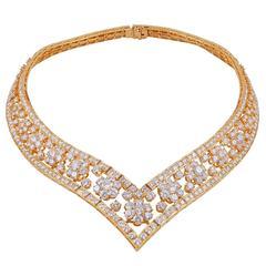 Van Cleef & Arpels Diamond Snowflake Necklace