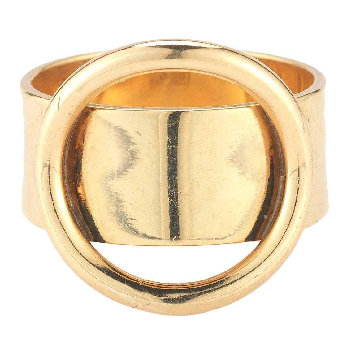 Home Designer Interiors Serial Cartier Gold Dinh Van Ring At 1stdibs