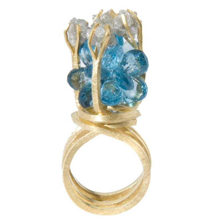 Rough Diamond Ring London
