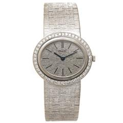 Piaget White Gold and Diamond Ladies Watch