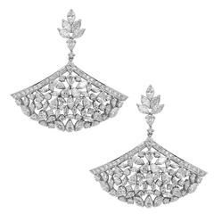 Gorgeous Diamond Gold Earrings