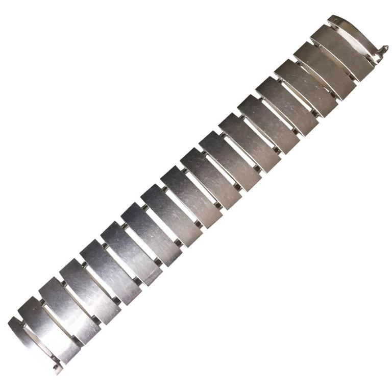 Georg Jensen Sterling Silver Bracelet No. 136 by Arno Malinowski