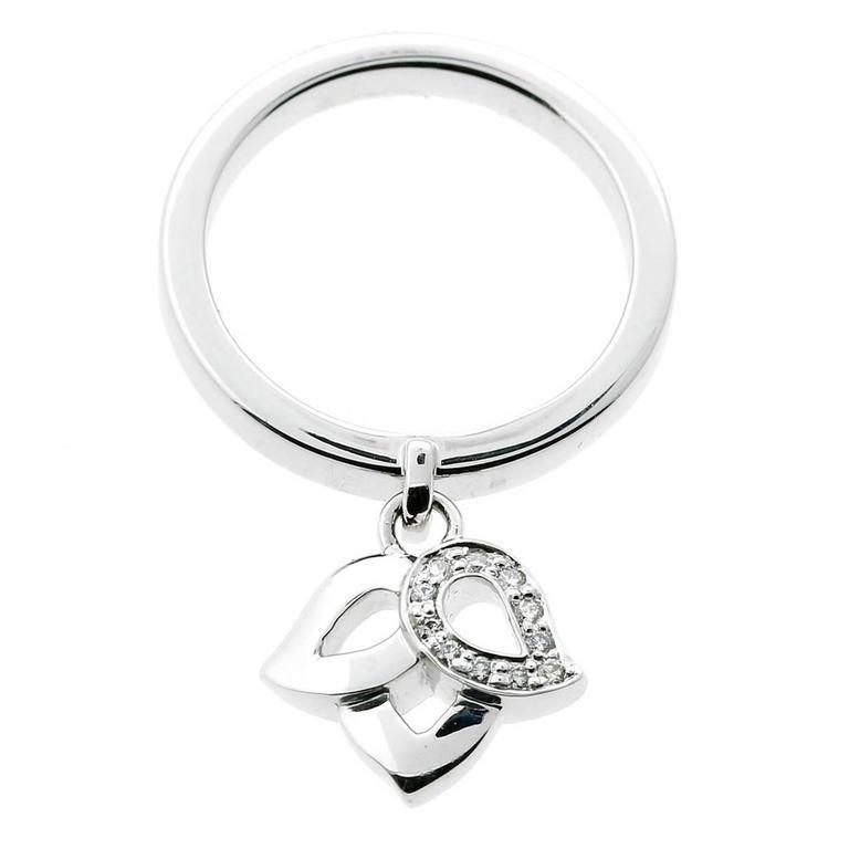 Piaget Floral Diamond Gold Ring