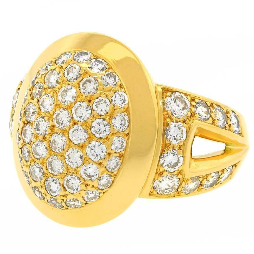 Stdibs Diamond Pave Rings