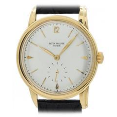 Patek Philippe Yellow Gold Dress Wristwatch ref 2452
