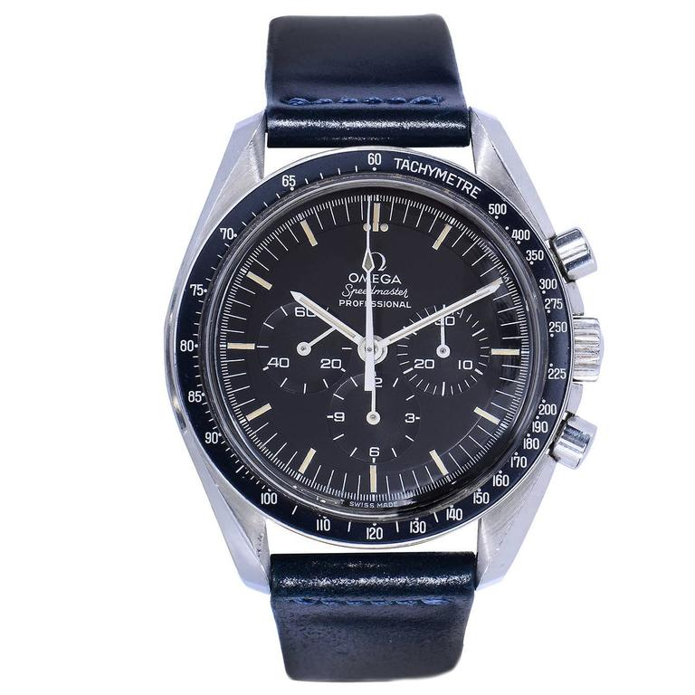 1969 Omega Speedmaster First Watch Worn on The Moon at 1stdibs